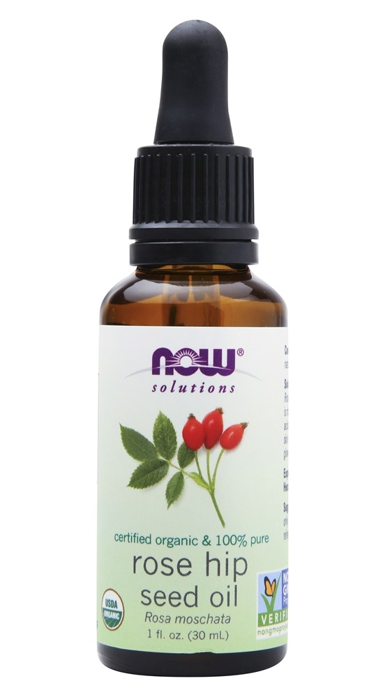 NOW Foods - Organic Rose Hip Seed Oil - 1 oz.