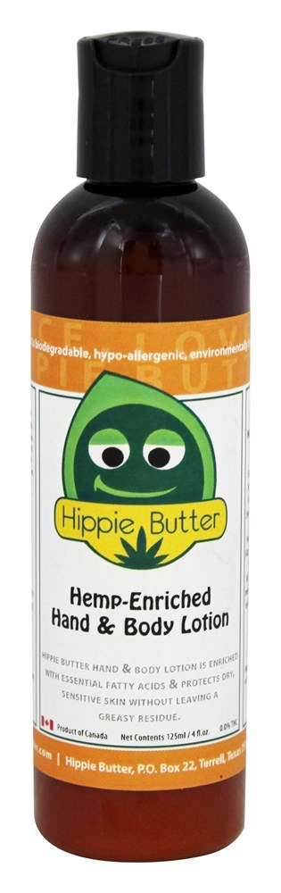 Hippie Butter - Hemp Enriched Hand & Body Lotion - 4 oz.