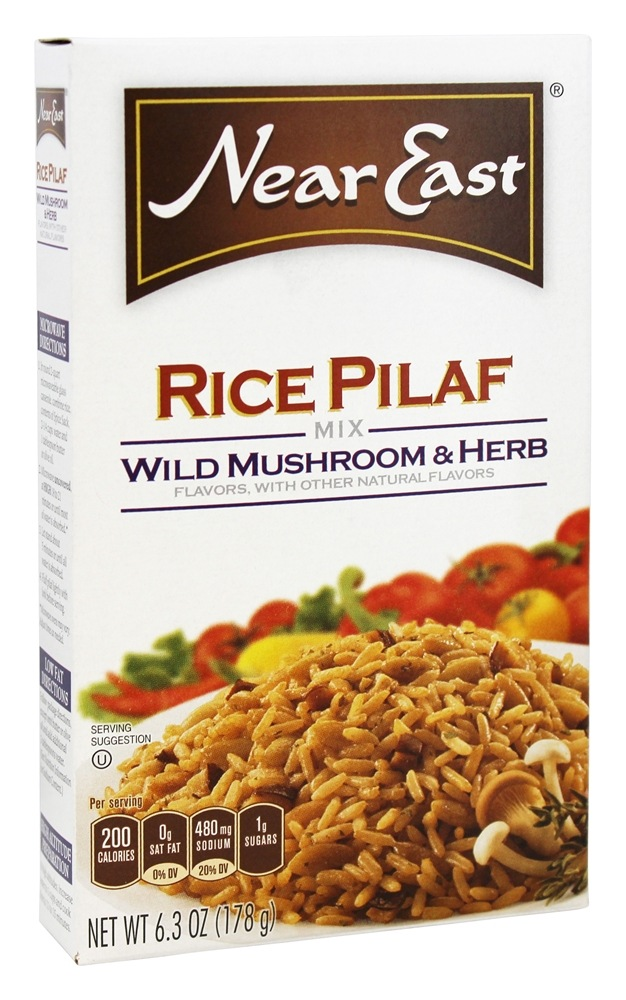 Buy Near East - Rice Pilaf Mix Wild Herb & Mushroom - 6.3 oz. at ...