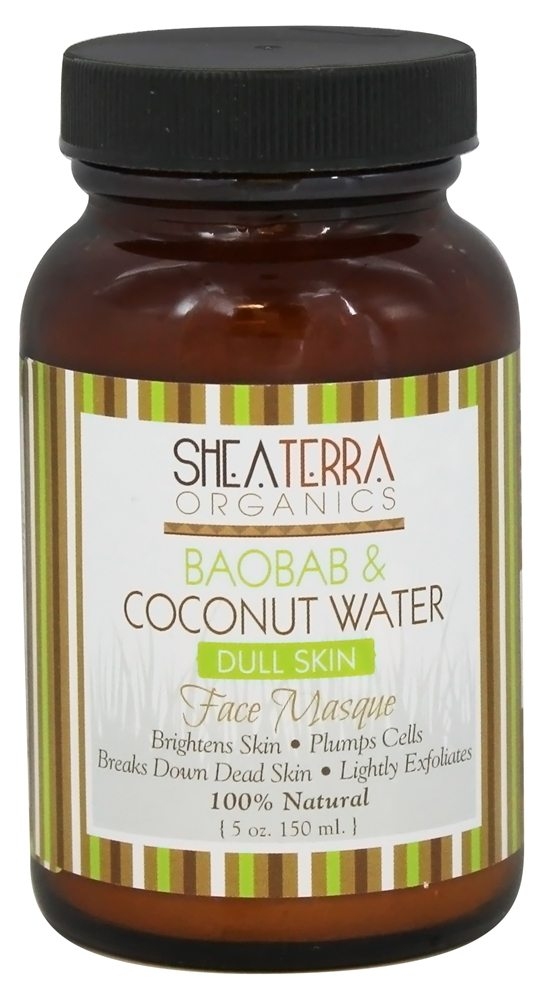 Shea Terra Organics - Face Masque Baobab & Coconut Water - 5 oz.