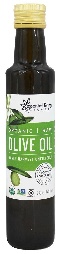 Essential Living Foods - Organic Raw Olive Oil - 8.45 oz.
