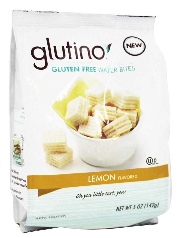 Glutino - Gluten Free Wafer Bites Lemon Flavored - 5 oz.