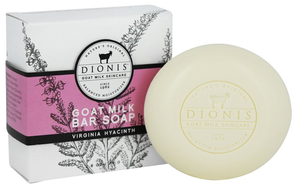 Dionis Goat Milk Skincare - Bar Soap Virginia Hyacinth - 2.8 oz.