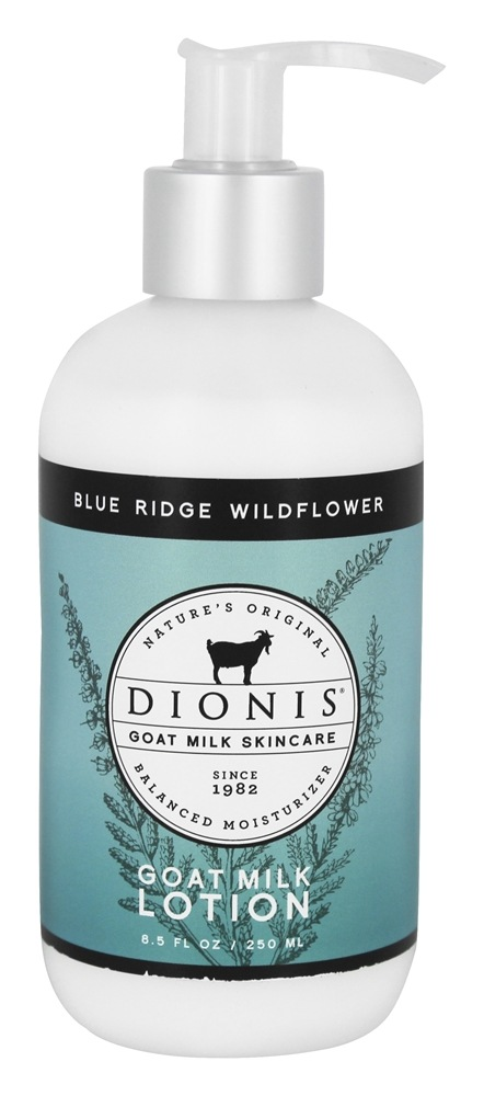 Dionis Goat Milk Skincare - Lotion Blue Ridge Wildflower - 8.5