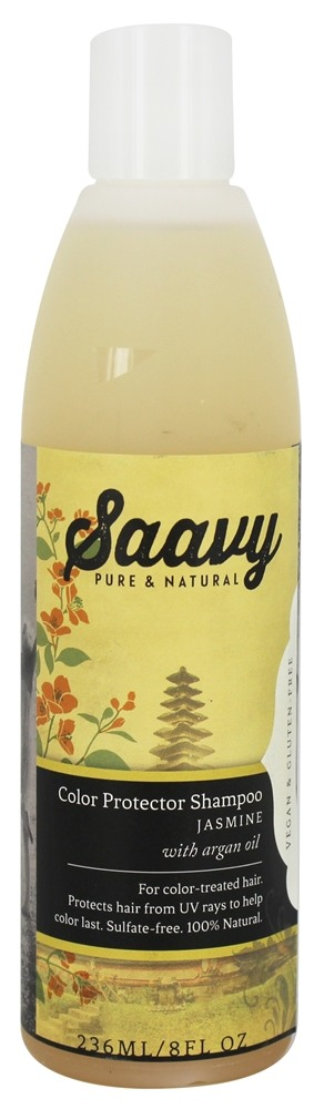 Saavy Naturals - Argan Oil Color Protector Shampoo Jasmine - 8 oz.
