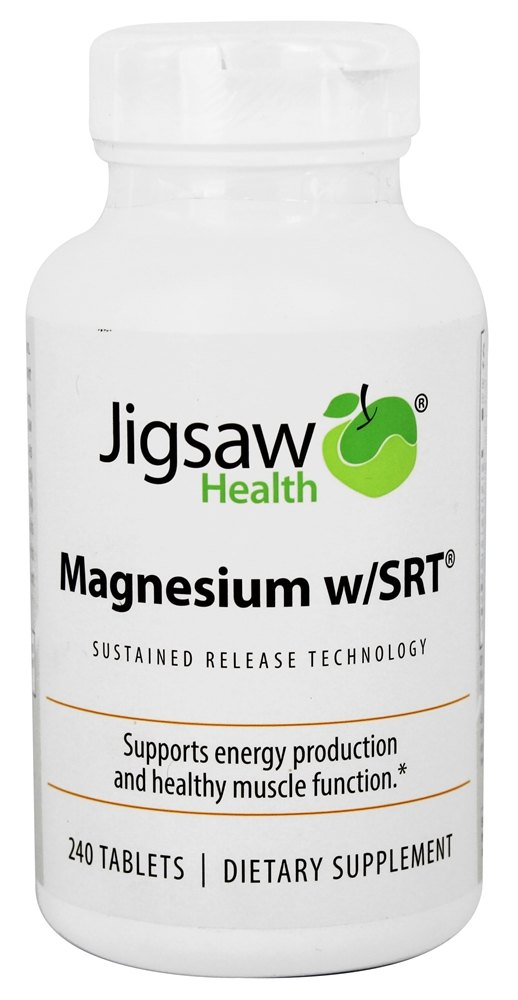 Jigsaw Health - Magnesium w/SRT - 240 Tablets