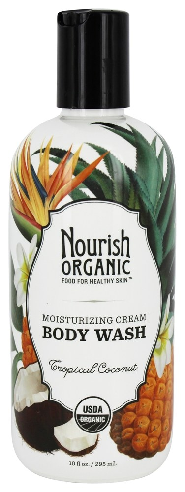 Nourish - Organic Body Wash Tropical Coconut - 10 oz.