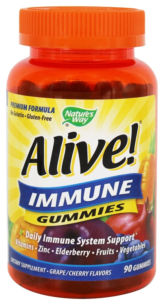 Nature's Way - Alive! Immune - 90 Gummies