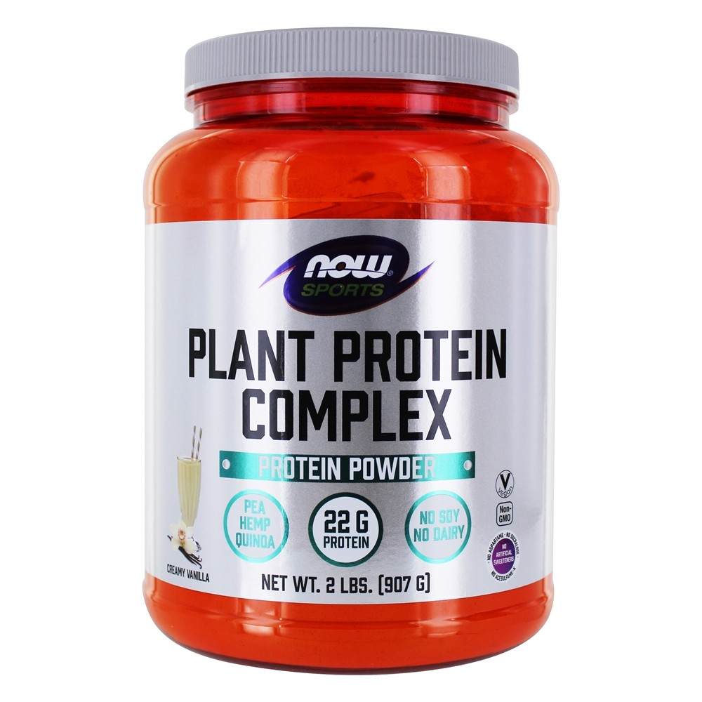 NOW Foods - Now Sports Plant Protein Complex Creamy Vanilla - 2 lbs.
