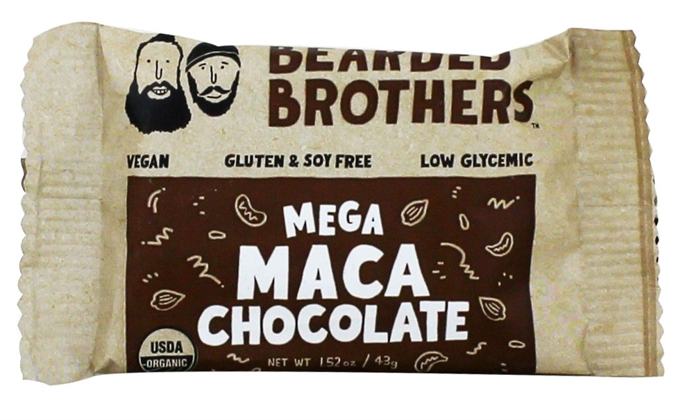 Bearded Brothers - Energy Bar Mega Maca Chocolate - 2 oz.