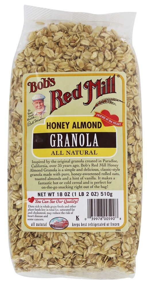 Bob's Red Mill - All Natural Granola Honey Almond - 18 oz.