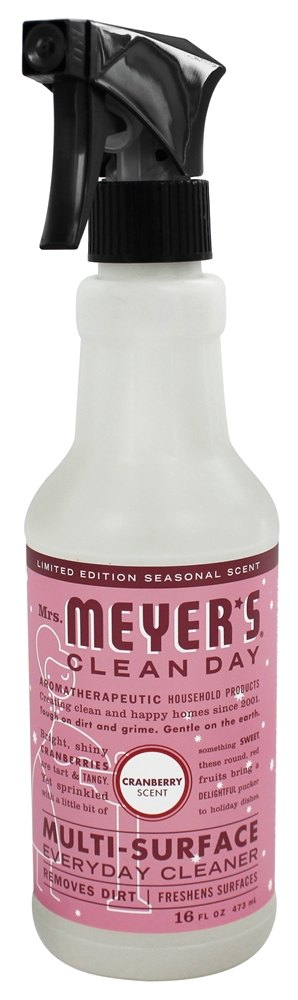 Mrs. Meyer's - Clean Day Multi-Surface Everyday Cleaner Cranberry - 16 oz.