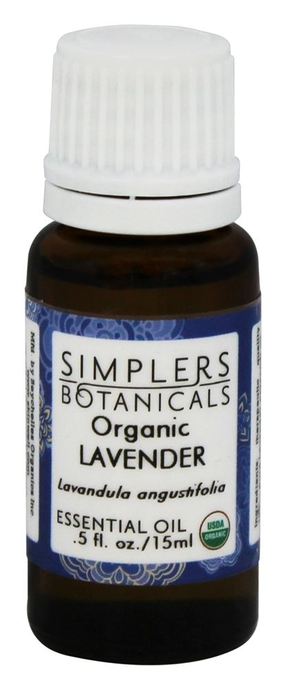 Simplers Botanicals - Organic Essential Oil Lavender - 15 ml.