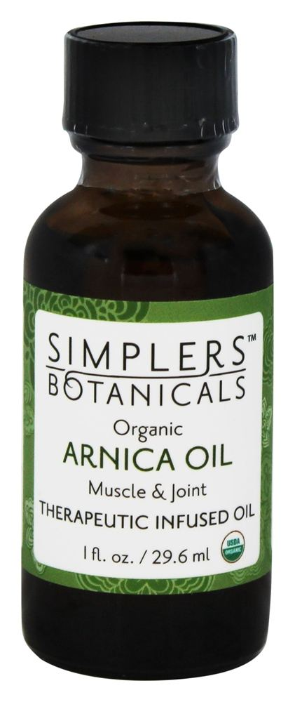 Simplers Botanicals - Organic Therapeutic Infused Oil Arnica - 1 oz.