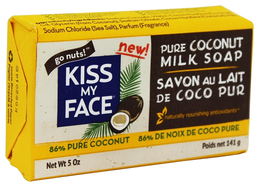 Kiss My Face - Coconut Milk Bar Soap - 5 oz.