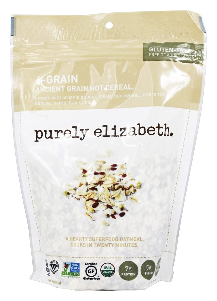 Purely Elizabeth - Organic Ancient Graint Hot Cereal 6-Grain - 14 oz.