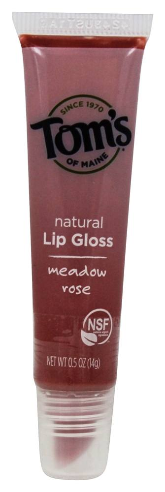 Tom's of Maine - Natural Lip Gloss Meadow Rose - 0.5 oz.