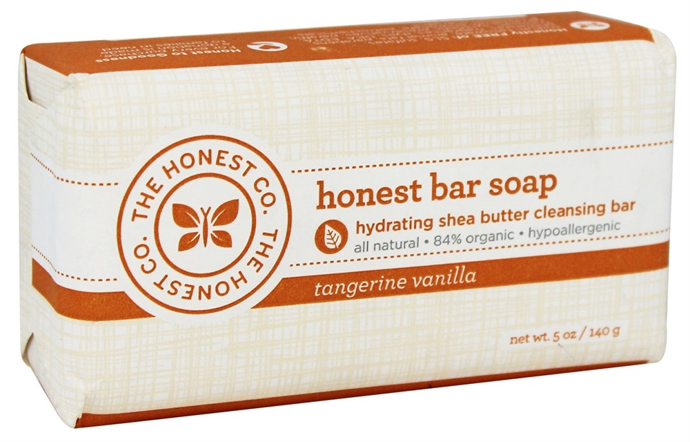 The Honest Company - Honest Bar Soap Tangerine Vanilla - 5 oz.