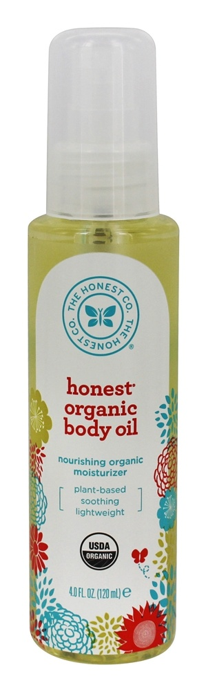 The Honest Company - Organic Body Oil - 4 oz.