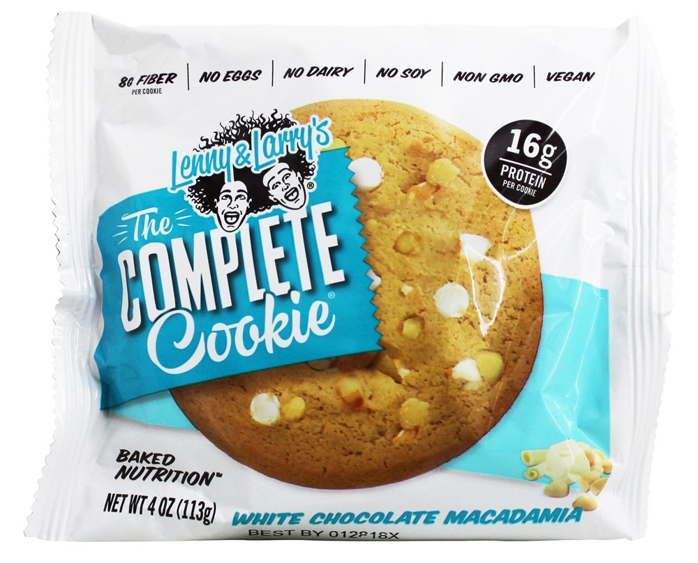 Lenny & Larry's - The Complete Cookie White Chocolate Macadamia - 4 oz.