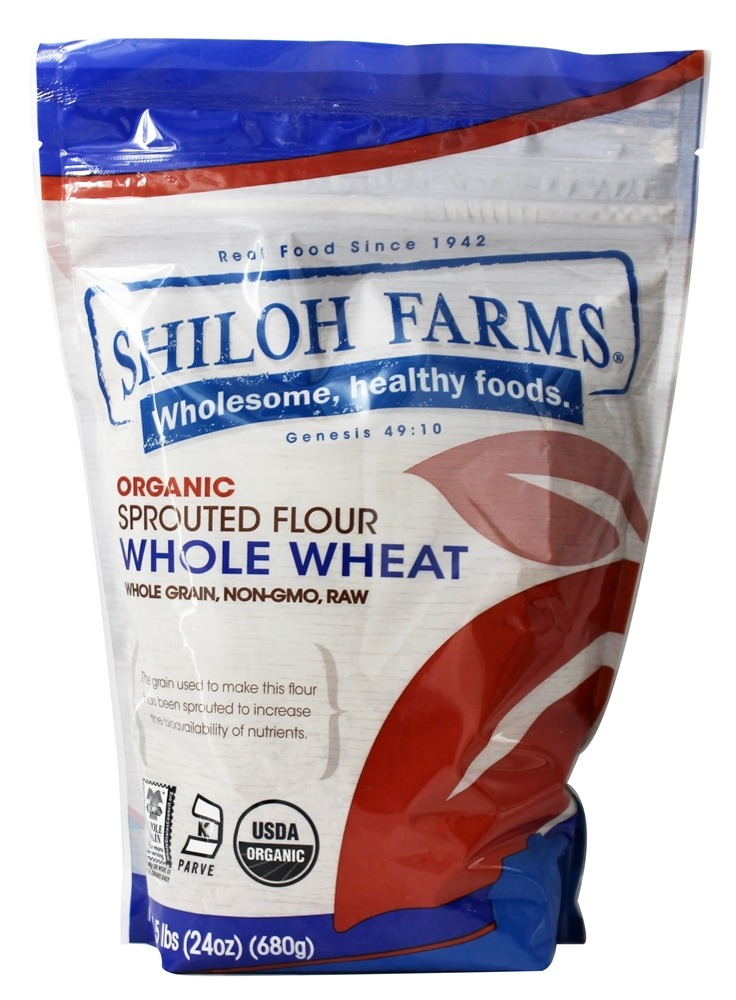 Shiloh Farms - Organic Spring Wheat Sprouted Flour - 24 oz.