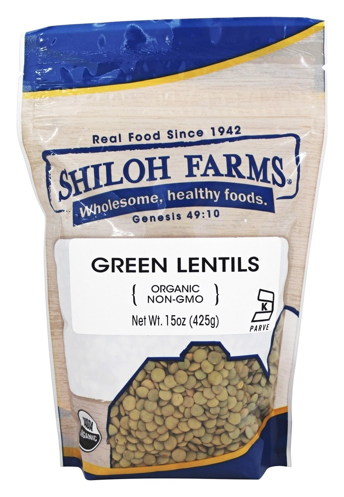 Shiloh Farms - Organic Green Lentils - 15 oz.