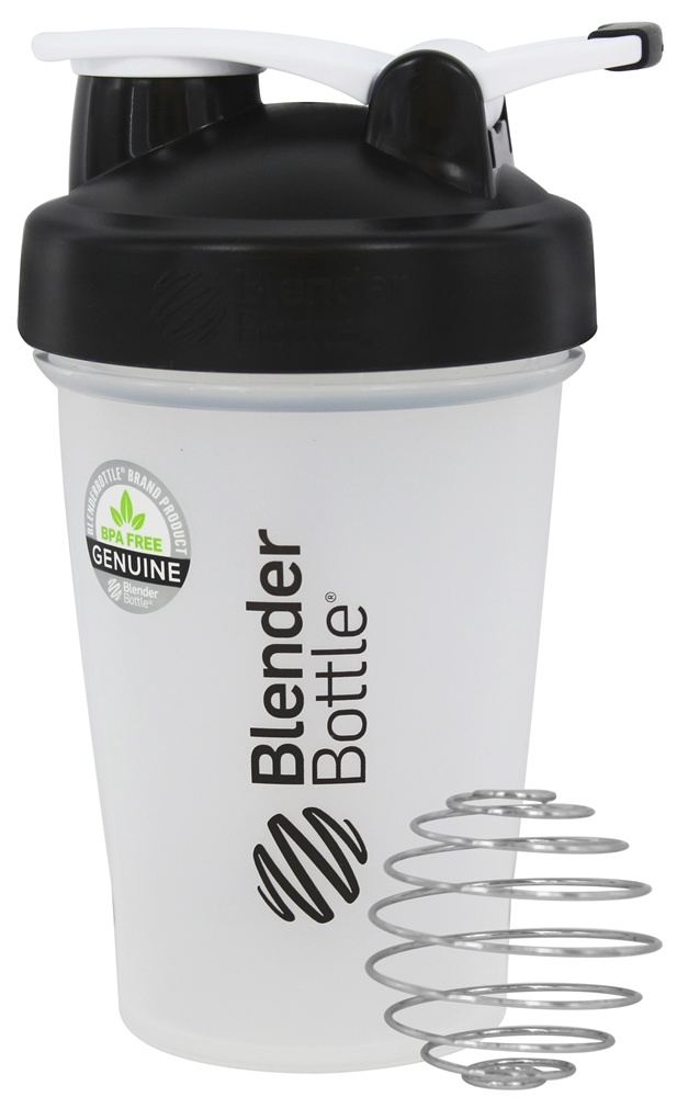 Blender Bottle - Classic Shaker Bottle with Loop Black - 20 oz. By Sundesa