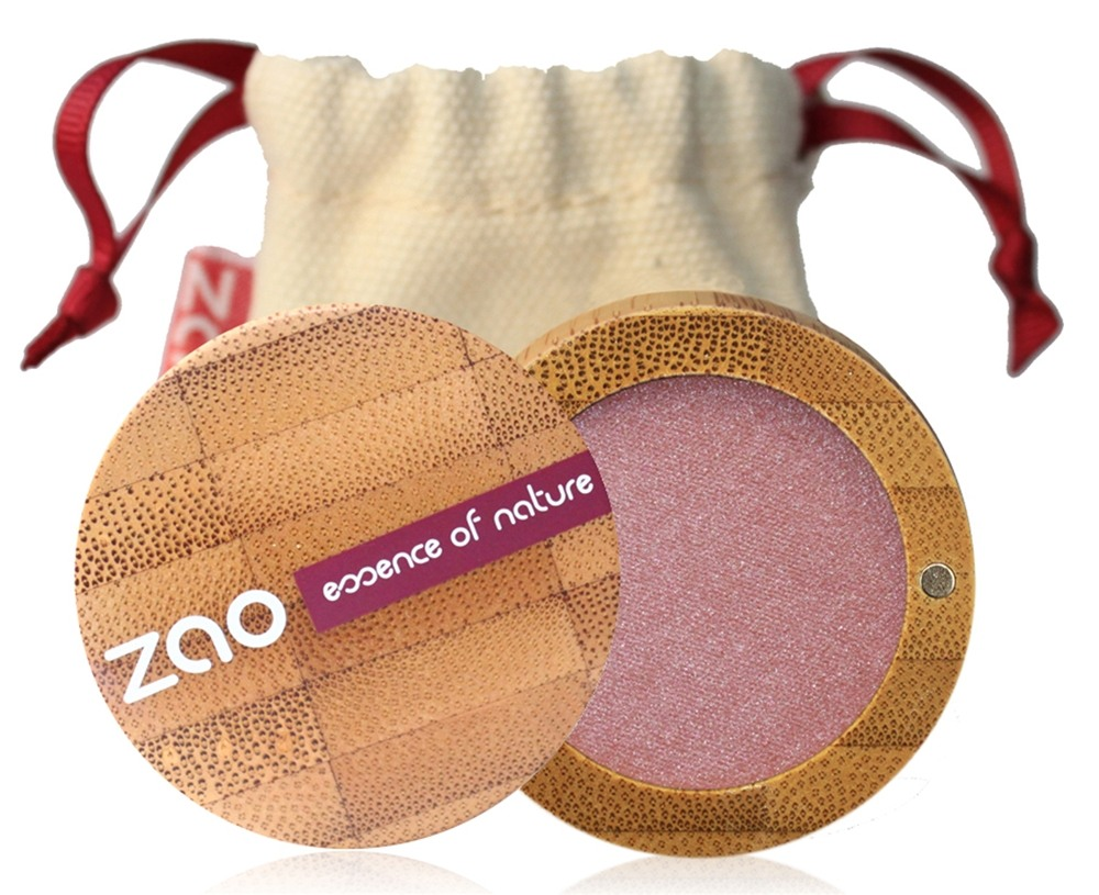 Zao Organic Makeup - Pearly Eye Shadow Pearly Old Pink 103 - 0.11 oz.
