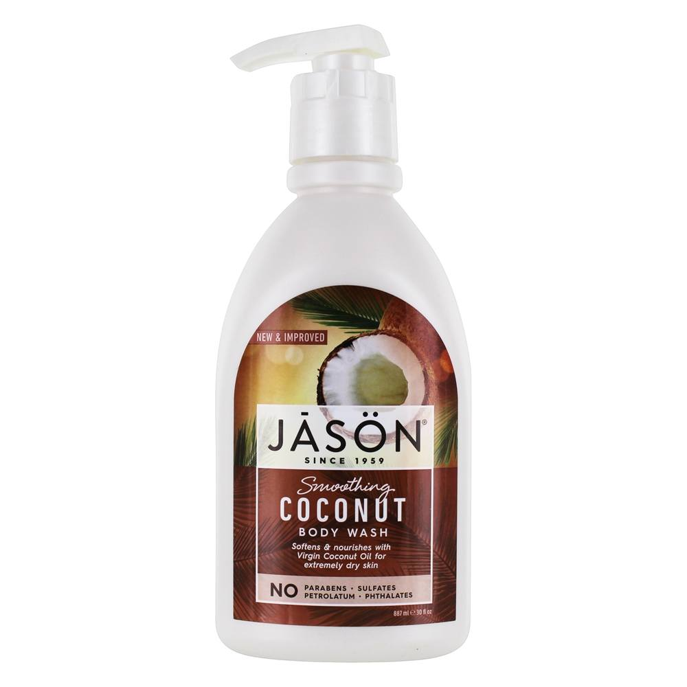 Jason Natural Products - Smoothing Coconut Body Wash - 30 oz.