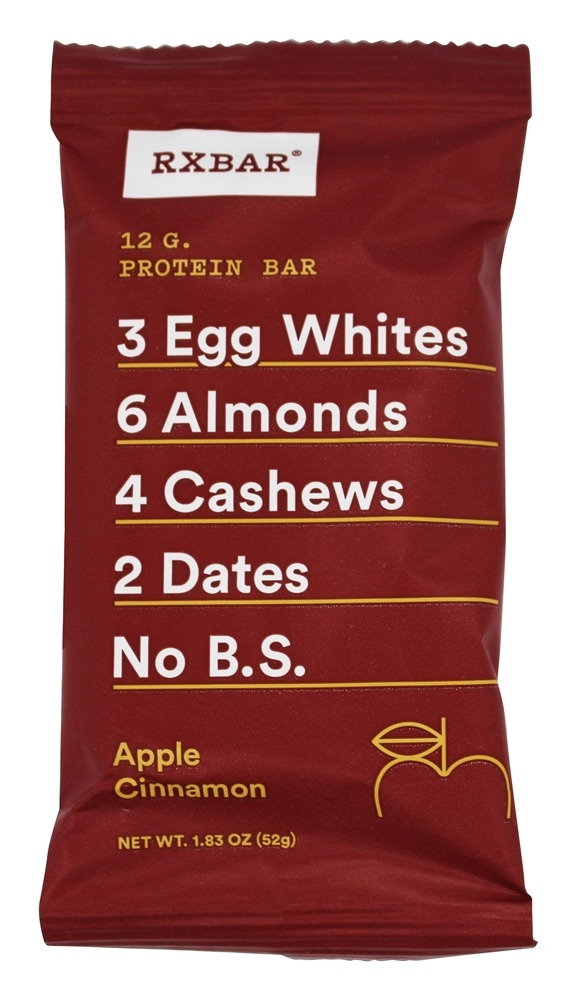 RxBar - Protein Bar Apple Cinnamon - 1.83 oz.
