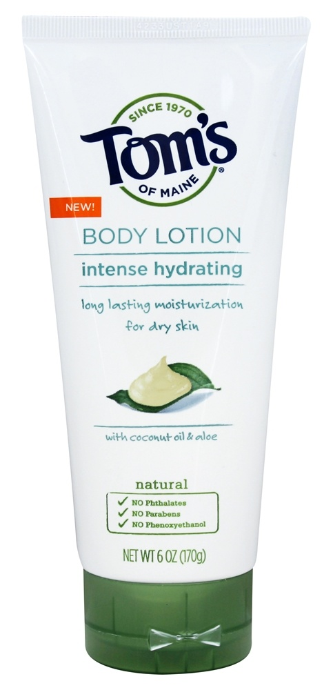 Tom's of Maine - Intense Hydrating Body Lotion - 6 oz.
