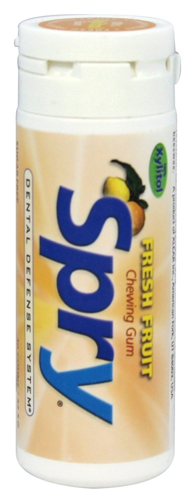 Xlear - Spry Chewing Gum with Xylitol Fresh Fruit - 30 Piece(s)