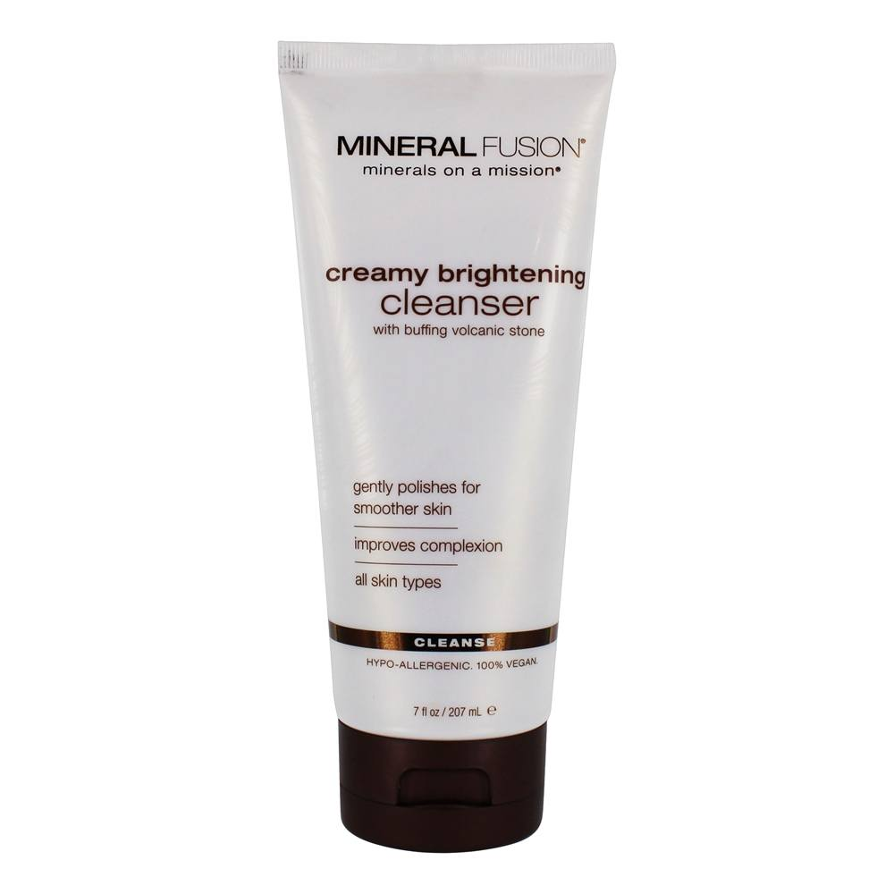 Mineral Fusion - Creamy Brightening Cleanser - 7 oz.