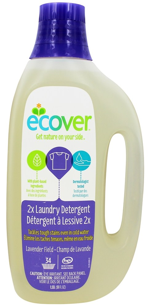 Ecover - Laundry Detergent 2X Concentrated 34 Loads Lavender Field - 51 oz.