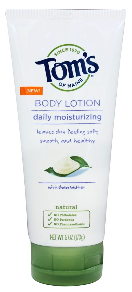 Tom's of Maine - Daily Moisturizing Body Lotion with Shea Butter - 6 oz.