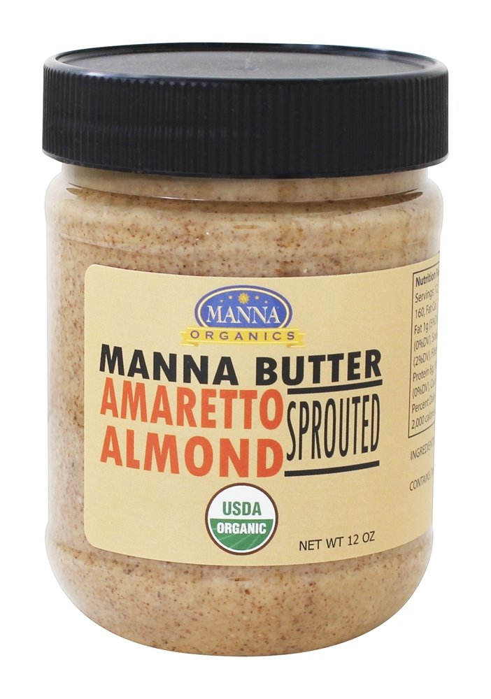 Manna Organics - Manna Butter Amaretto Almond Sprouted - 12 oz.