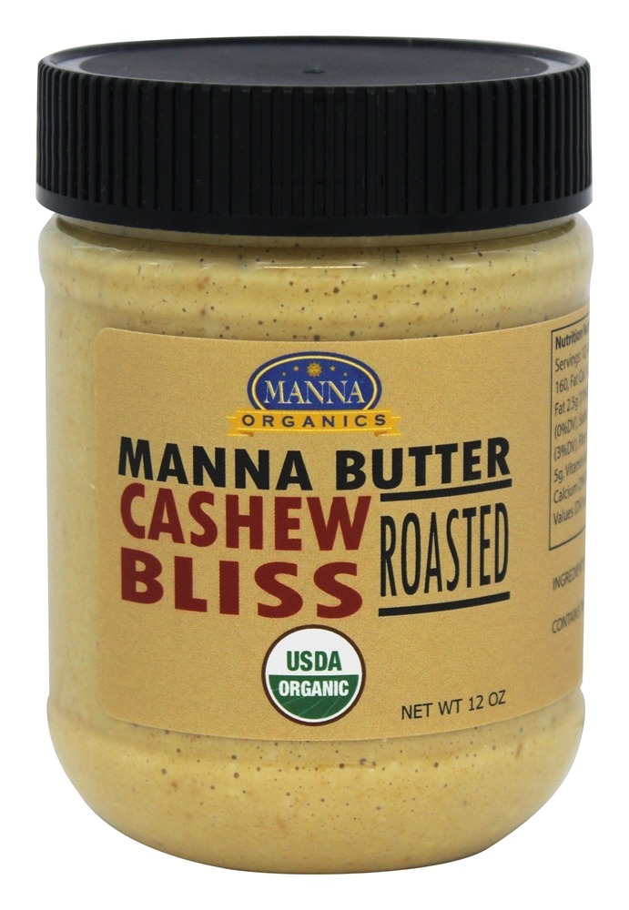 Manna Organics - Manna Butter Cashew Bliss Roasted - 12 oz.