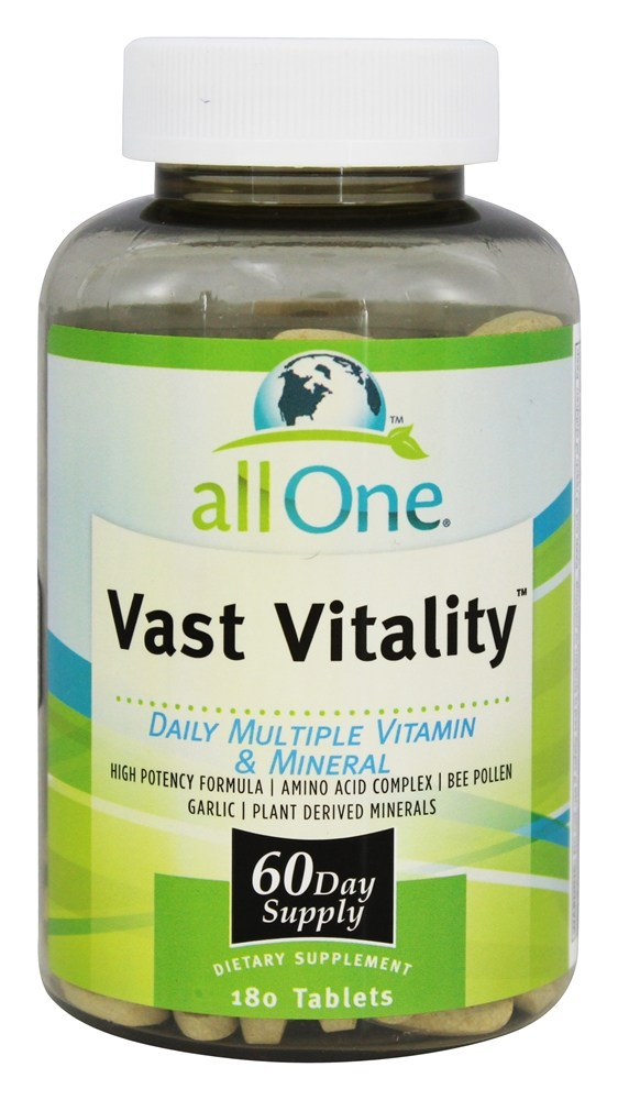 All One - Vast Vitality - 180 Tablets