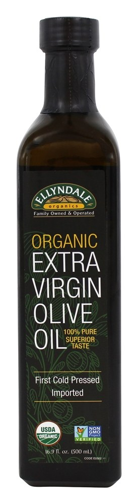 Ellyndale Foods - Organic Extra Virgin Olive Oil - 16.9 oz.