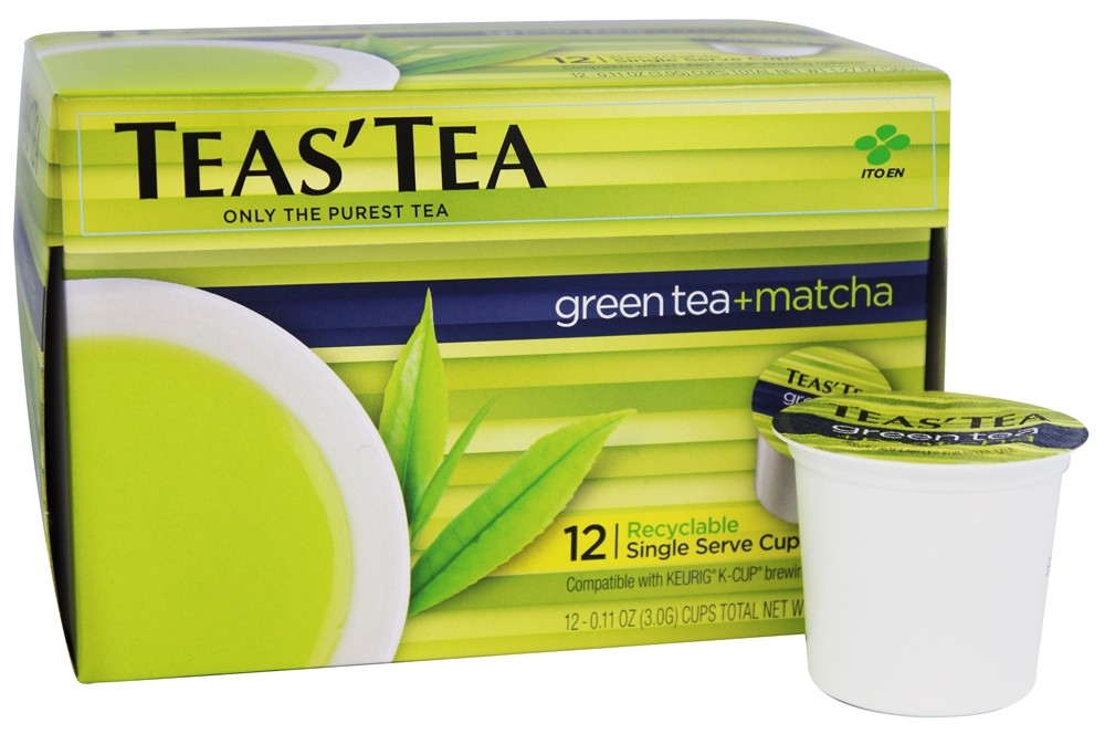 Tea's Tea - Green Tea Plus Matcha - 12 K-Cup(s)