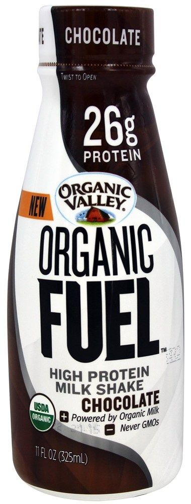 Organic Valley - Organic Fuel Protein Shake Chocolate - 11 oz.