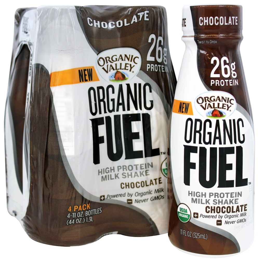 Organic Valley - Organic Fuel Protein Shake Chocolate - 4 Pack