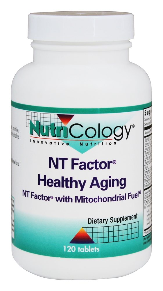 Nutricology - NT Factor Healthy Aging - 120 Tablets