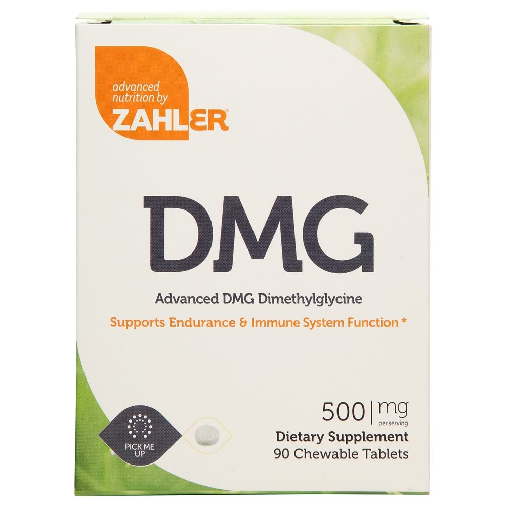 Zahler - DMG 500 mg. - 90 Chewable Tablets
