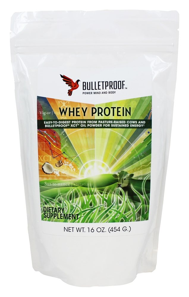 Bulletproof - Upgraded Whey Protein - 16 oz.