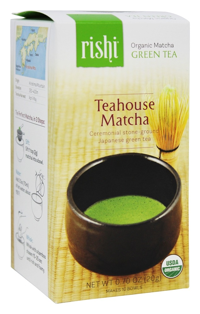Rishi Tea - Organic Teahouse Matcha Green Tea - 0.7 oz.