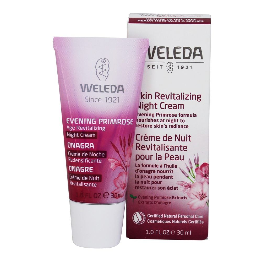 Weleda - Evening Primrose Age Revitalizing Night Cream - 1 oz.