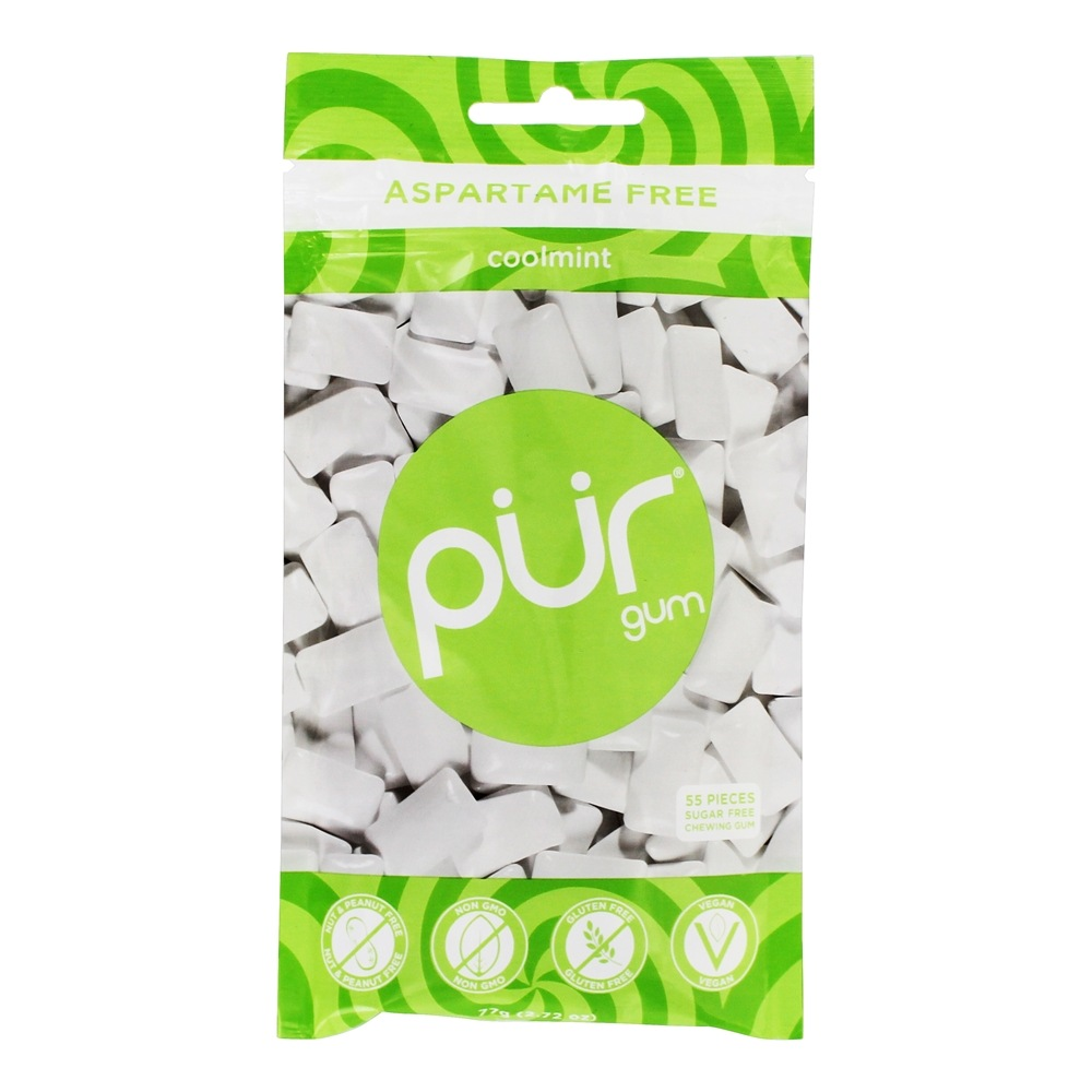 Pur Gum - Sugar Free Chewing Gum Coolmint - 57 Piece(s)