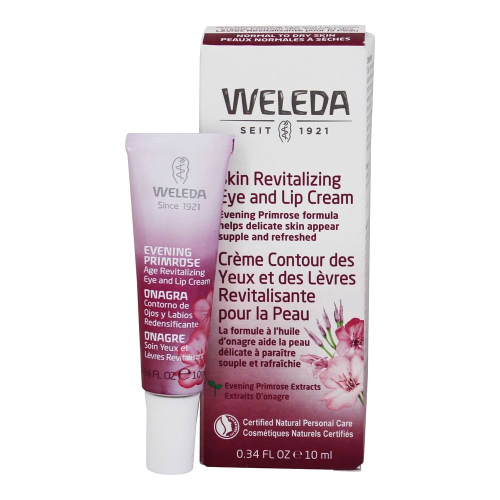 Weleda - Evening Primrose Age Revitalizing Eye & Lip Cream - 0.34 oz.