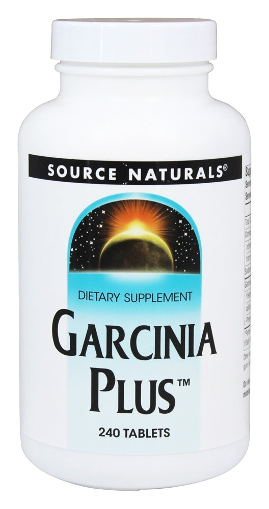 Source Naturals - Garcinia Plus - 240 Tablets